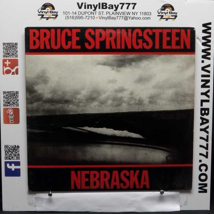 Used 12 Quot Lp Vg Bruce Springsteen Nebraska 1982 Columbia