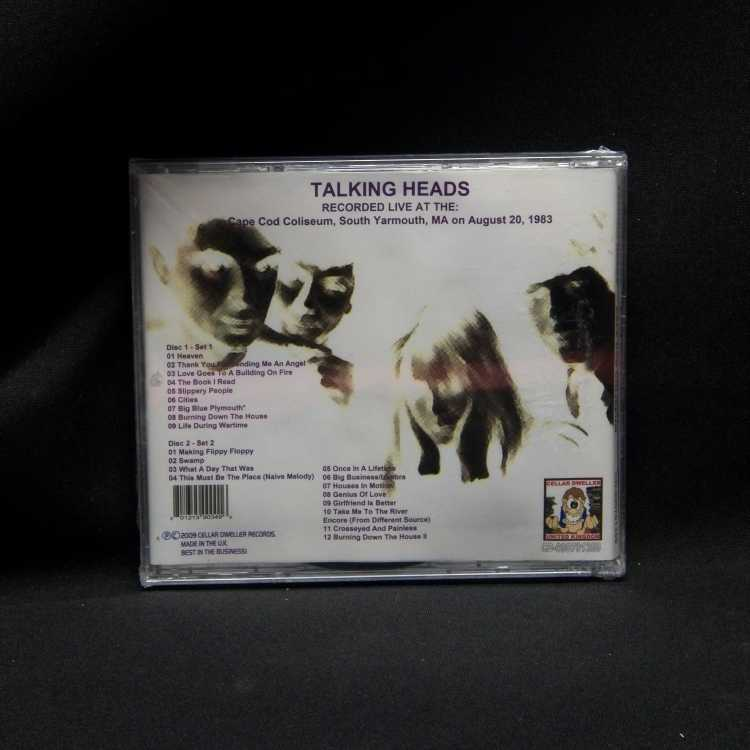SEALED 2 CD Set Talking Heads Remastered: Live At The Cape