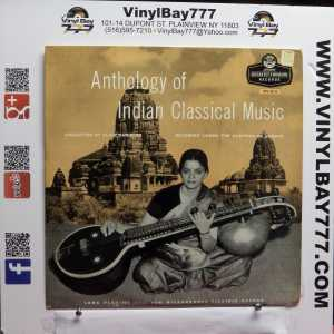 Anthology of Indian Classical Music Used M- UK Import LP 1