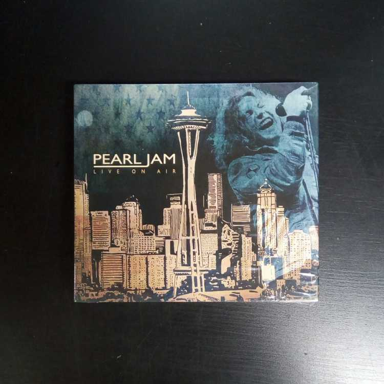 SEALED 4 CD Set Pearl Jam Live On Air 2016 Live Wire Productions EU Import