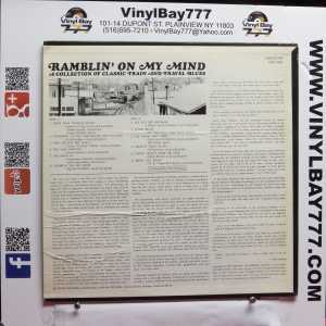 Ramblin' On My Mind A Collection of Classic Train and Travel Blues Used M- LP 2