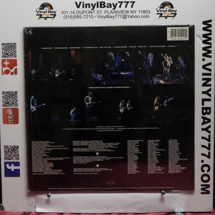 USED 12″ LP M- Joan Jett and the Blackhearts Good Music 1986 Blackheart  Records