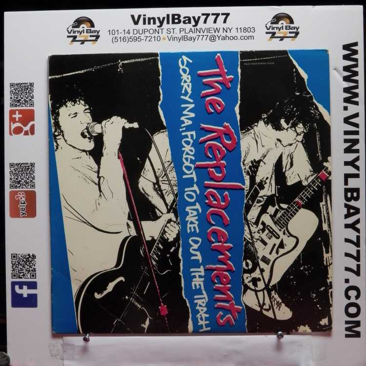 Used 12 Quot Lp Vg The Replacements Sorry Ma Forgot To Take
