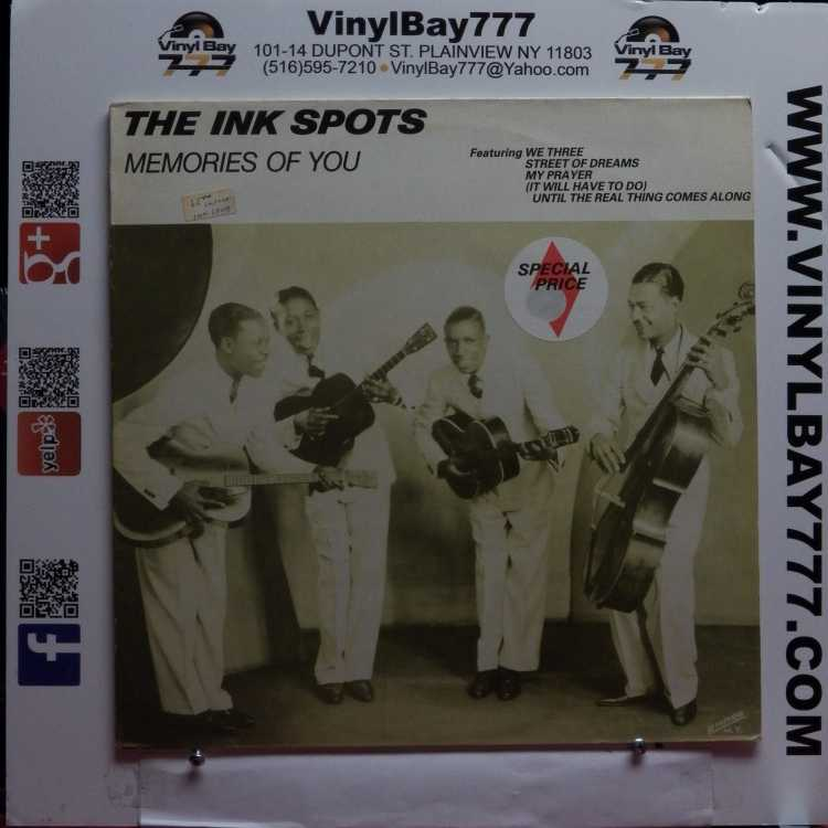 USED 12″ LP M- The Ink Spots Memories Of You 1983 MCA Records UK Import