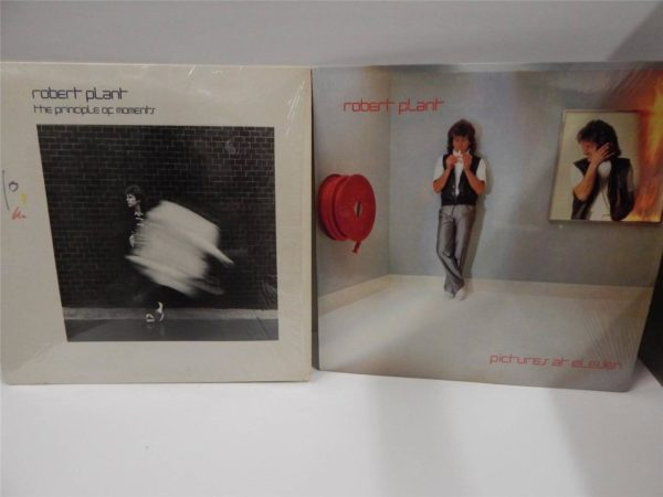 Used 2x 12 Quot Lps Nm Robert Plant Vinyl Records Pictures At